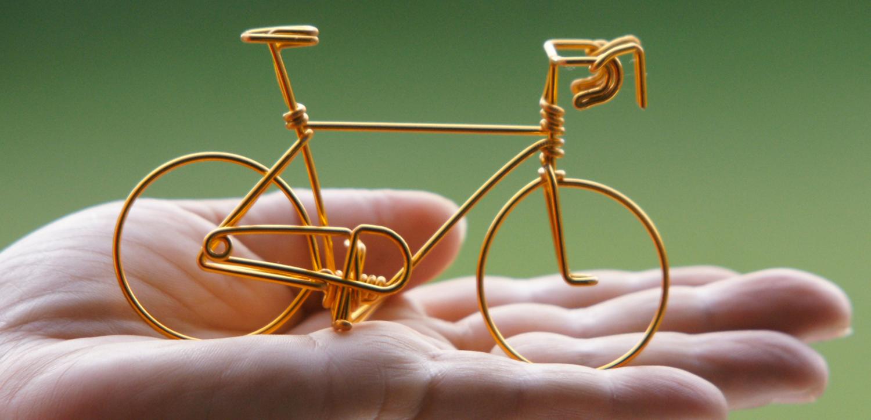 Vélo miniature – Vélo du bonheur – Bruno Robineau